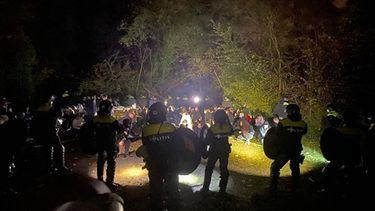 Politie beëindigt opnieuw illegale feesten, onder meer in Limburgse bossen