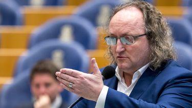 Dion Graus (PVV) in de Tweede Kamer.