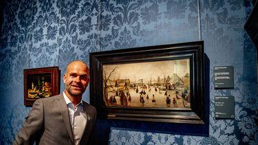 Een foto van Erben Wennemars die zo graag de Elfstedentocht wil rijden