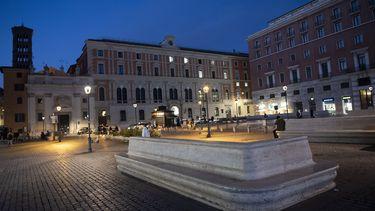 Een foto van Rome in coronatijd; bij een dergelijke pandemie in Europa ligt de stad volledig plat