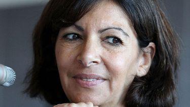 Anna Hidalgo, de burgemeester van Parijs