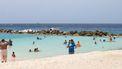 Een foto van een strand op Curaçao