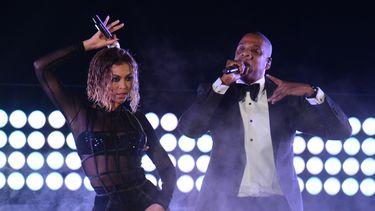 Beyonce en Jay-Z komen naar Amsterdam. / AFP