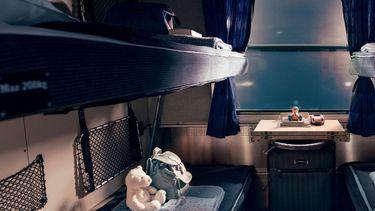 slaaptrein, nachttrein, vakantie, Europa, treinvakantie