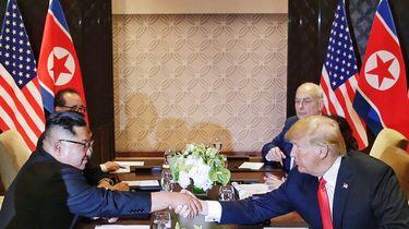 Trump wil 'het oplossen' met Noord-Korea