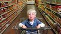 Klunzige dief vergeet zoontje in supermarkt