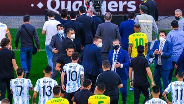 Brazilië Argentinië staking