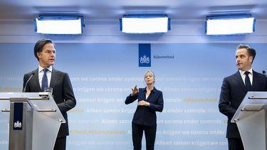 Persconferentie Rutte en De Jonge over coronamaatregelen
