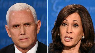 Debat Harris en Pence
