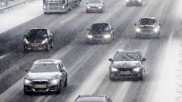 Sneeuw kan komende dagen overlast geven in verkeer