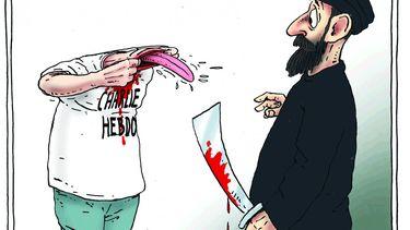 foto va de cartoon van Joep Bertrams