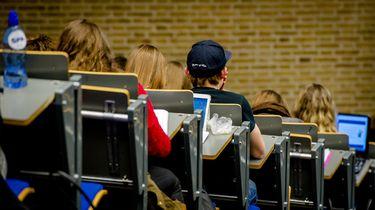 Collegezaal van de Universiteit Tilburg. Foto: ANP / Robin van Lonkhuijsen