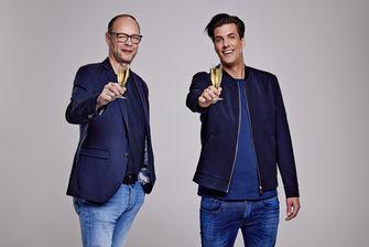 Een foto van Rob Kemps met Marco Louwerens