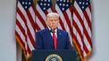 Een foto van Donald Trump.