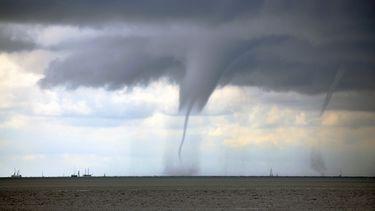 tornado, weer, warm, heet, tropisch