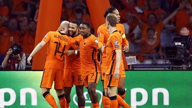 Oranje Nederlands elftal Turkije Depay