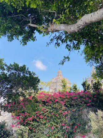 Op deze foto zie je Stille stad Malta