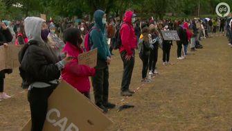 Demonstratie in Nijmegen voor Black Lives Matters op 5 juni
