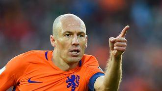 Arjen Robben voetbal Oranje FC Groningen