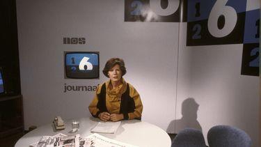 Een foto van Maartje van Weegen bij het NOS Journaal