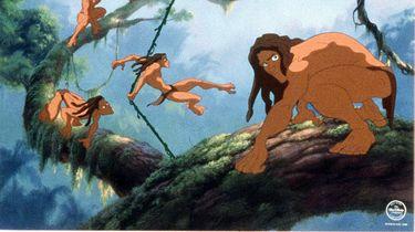Ben jij benieuwd hoe Jonathan Stryker eruitziet als Tarzan? / EPA PHOTO AFP/BURROUGHS AND DISNEY/HO/mn/sh/kr
