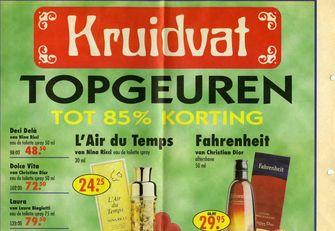 foto van parfumoorlog Kruidvat