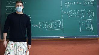 Rok Spanje Spaanse leraren docenten protest