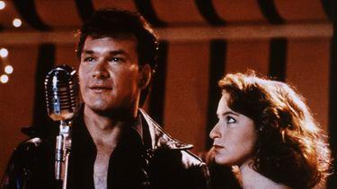 Patrick Swayze en Jennifer Grey in Dirty Dancing.