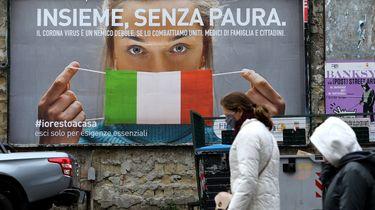 Coronadoden in Frankrijk en Italië gedaald