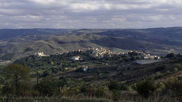 Op deze foto zie je het Italiaanse dorpje Castropignano