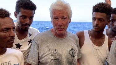'Gere mag de migranten meenemen in zijn privéjet'