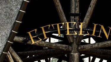 Op deze foto zie je de entree van de Efteling.
