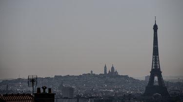 Foto van skyline Parijs