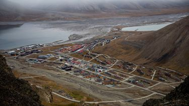 Een foto van Longyearbyen bij de Noordpool