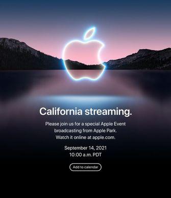 Apple IPhone 13 presentatie