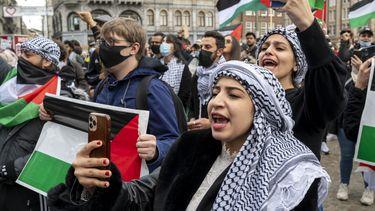Pro-Palestina demonstraties