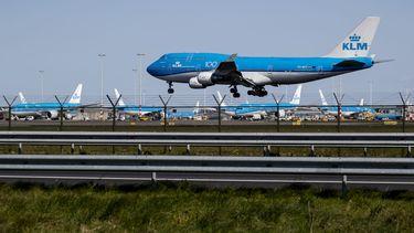 Boete voor spotters die kijken naar laatste Boeing 747 van KLM