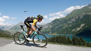 Dumoulin knap tweede op Alpe d'Huez, Thomas wint