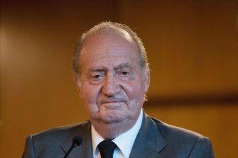 Een foto van Juan Carlos die positief is getest