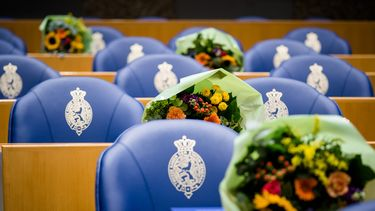bloemen Tweede Kamer