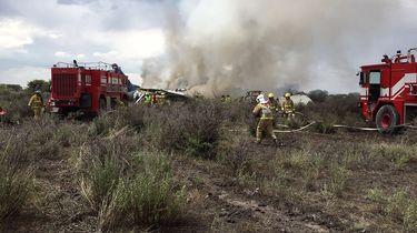 Alle 103 mensen overleven vliegtuigcrash Mexico