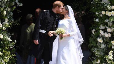 Brits koningshuis deelt drie officiële trouwfoto's. / EPA