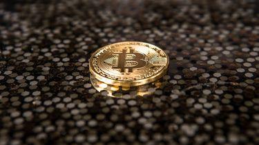 Een foto van een bitcoin