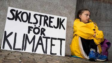 15-jarige spijbelt voor aandacht klimaatcrisis