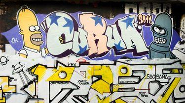 Graffiti-kunstenaars woedend op McDonalds