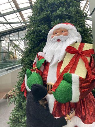 foto van kerstman