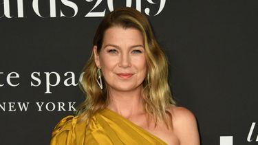 Een foto van Ellen Pompeo, zij speelt Meredith Grey in de serie.
