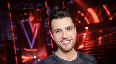 Duncan de Moor na afloop van de tweede liveshow van het vijfde seizoen van The Voice of Holland.