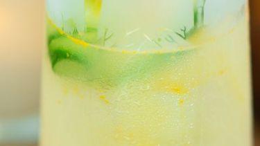 op deze foto zie je de Pomme Highball met wodka
