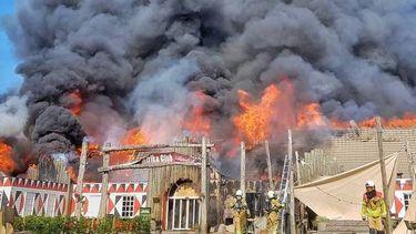 Brand Beekse Bergen safaripark gaslek